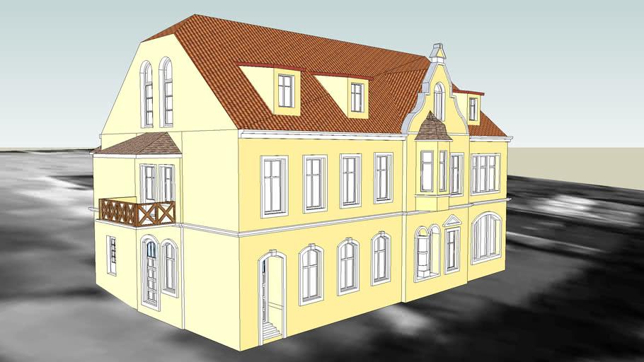 TENEMENT HOUSE ON 9 ZBOZOWY RYNEK IN BYDGOSZCZ