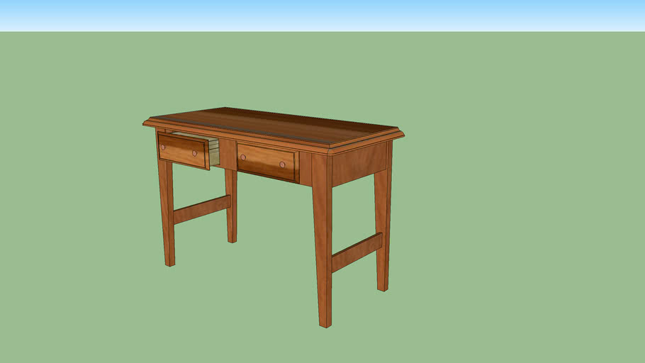 Nice 2 Drawer Console Table,