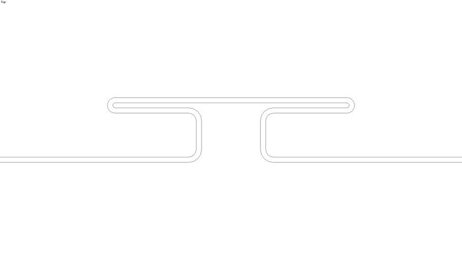 2D - 52505 3/8 in H-Bar