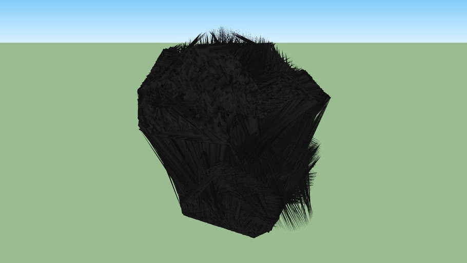 An inported helmet from blender that didn't work