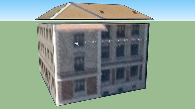 Building in Zürih, İsviçre