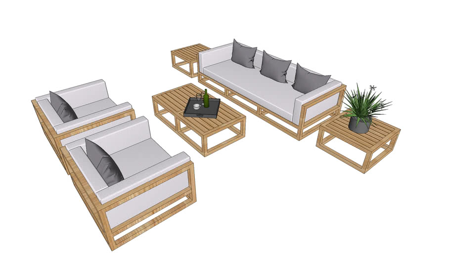 Outdoor seating or Sofa