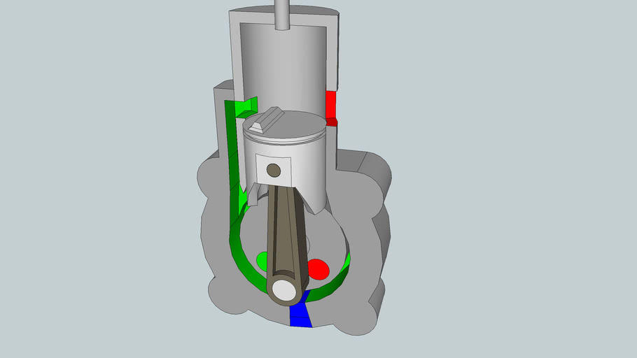 2 Stroke Engine Animation 3d Warehouse