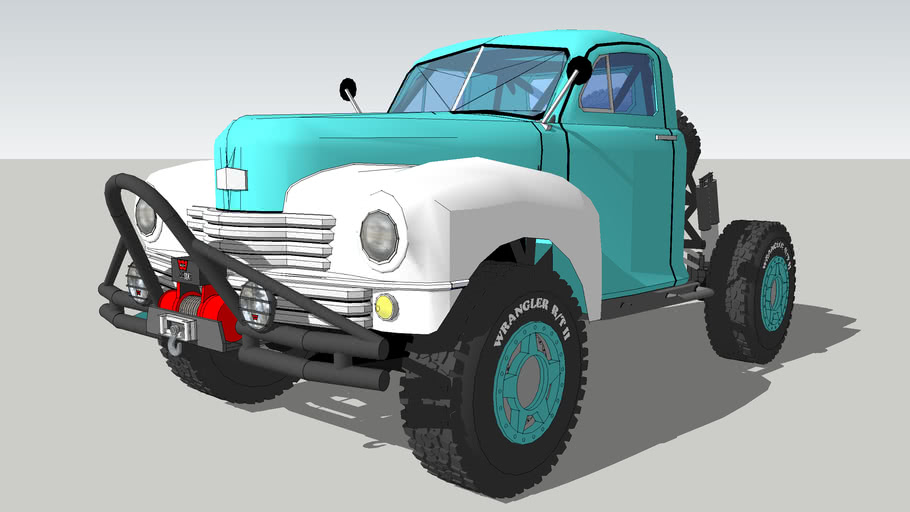 1949 Nash Rock Crawler