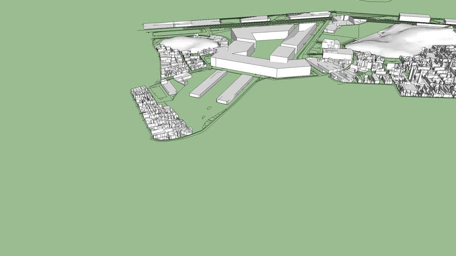 Maquete 3D Urban21