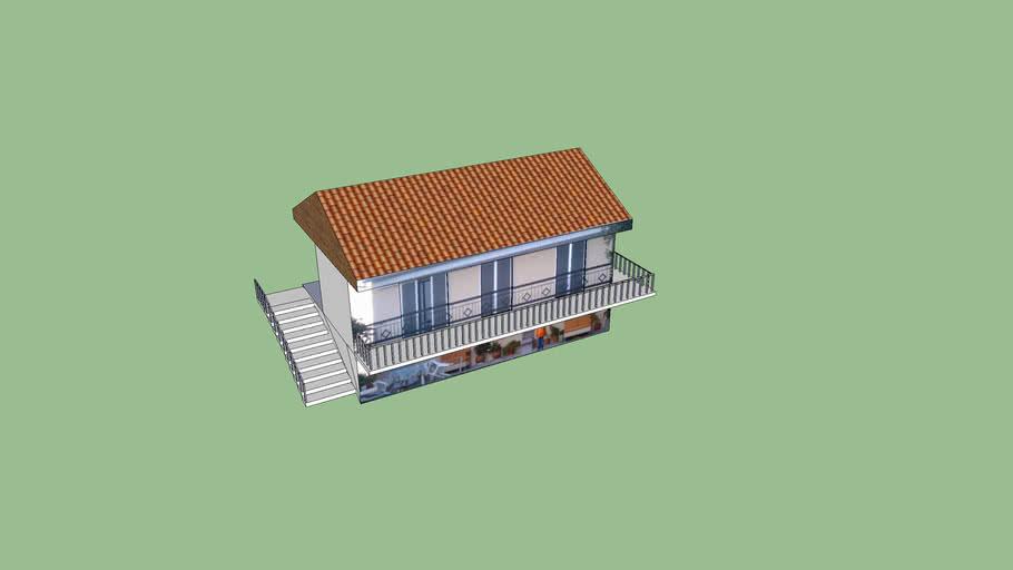Zappeio hill house