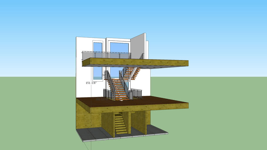 PMW / Lot 2 Stair design