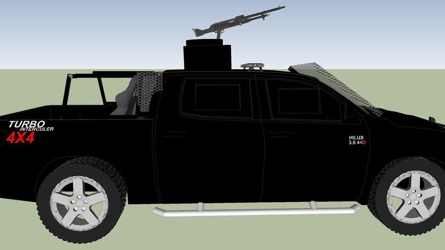 Armoured police patrol