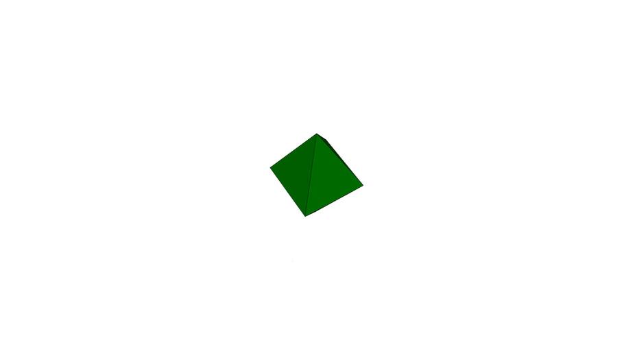 Тетрагональная пирамида