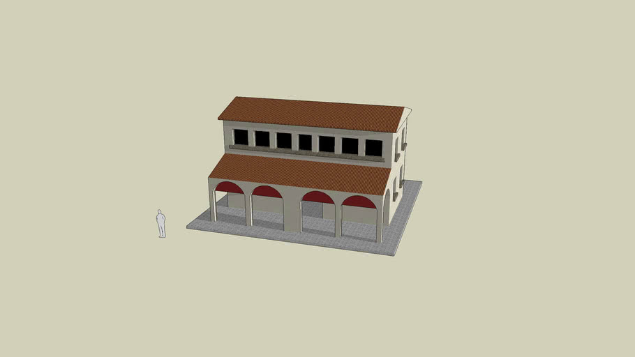 Roman Building by Traianus