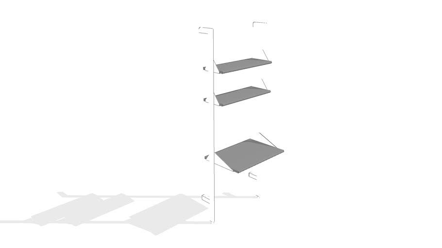 Branch 1 - Desk Shelving Unit by Gus* Modern