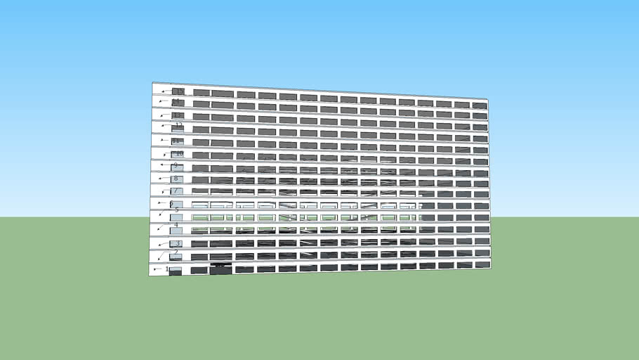 15th Story Parking Garage -Fully Furnished