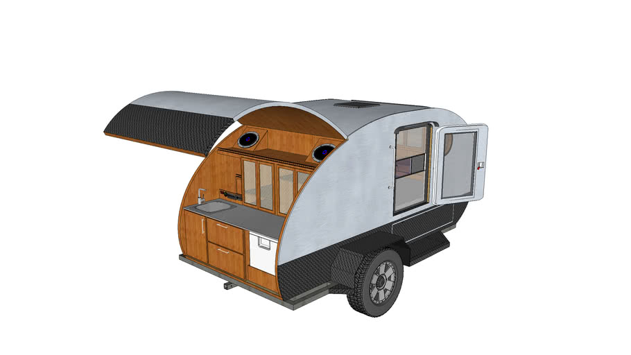 Grumman 2 XL Teardrop Trailer