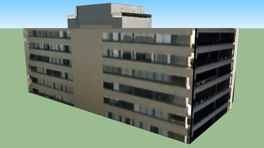 Building in The Avenue, Parkville VIC 3052, Australia