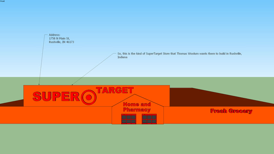 New SuperTarget Store for Rushville, Indiana