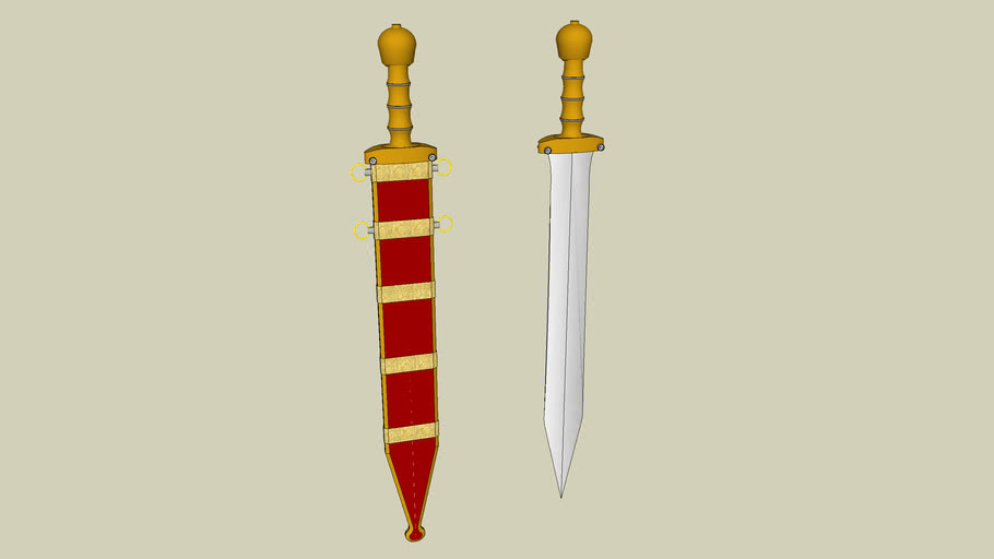 Roman Short Sword - Republican Period (circa 250 BC)