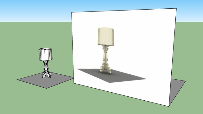 Bourgie Lamp Ferruccio Laviani 3d Warehouse
