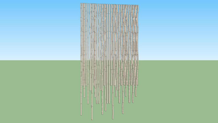 wave wood wall