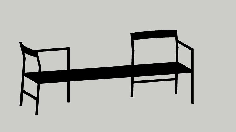 Tonic hawker bench