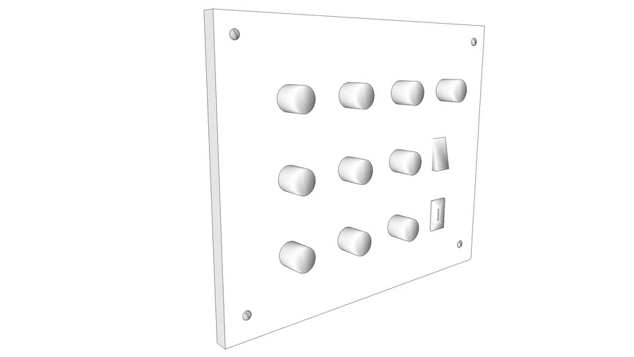 Light Switch Panel