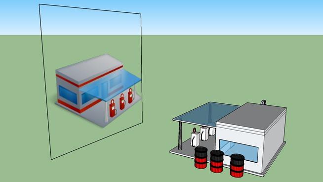 Trạm xăng (Gas Station)