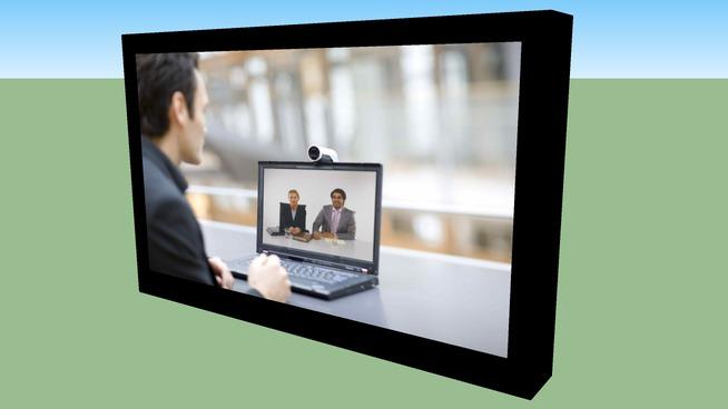 FISKEX TANDBERG 24 inch monitor