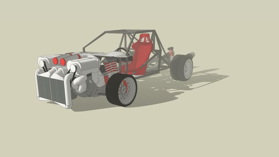 Matte372 Drag Car