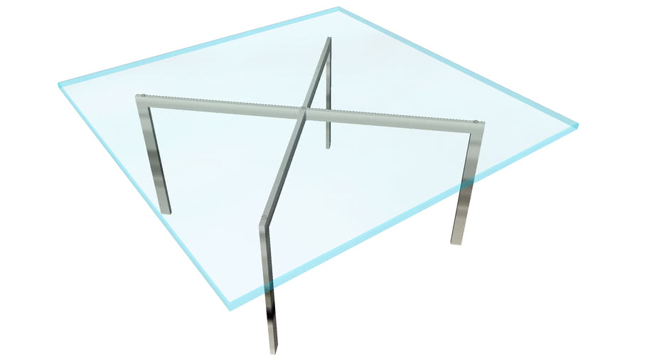 Barcelona table (low poly)
