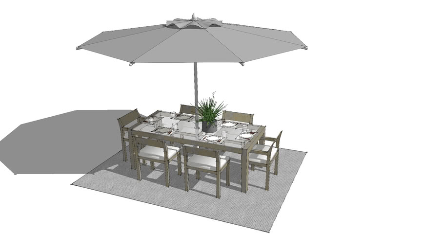 Outdoor Dining Table Warehouse