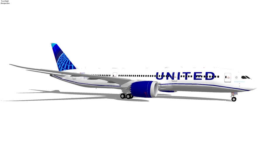 United Airlines Boeing 787-9 Dream(Liner (2020) N29975