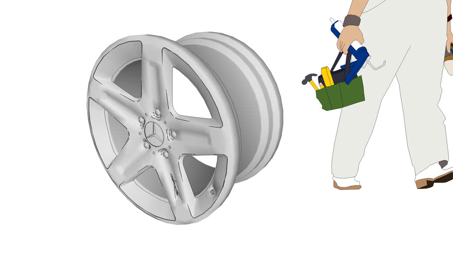 Литой диск