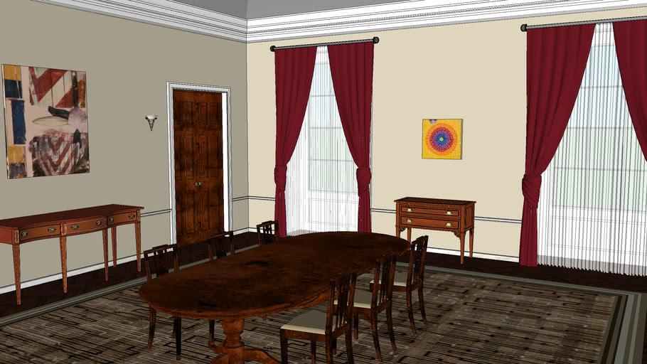 Family Dining Room, White House Family Dining Room