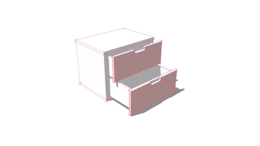 gavetero rosa