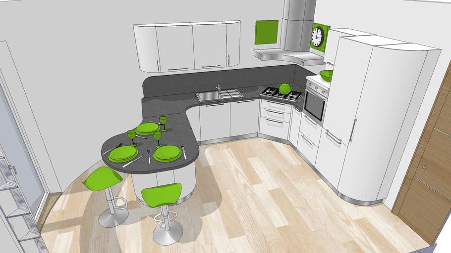 Progetto cucina 152