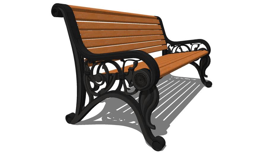 """Скамейка садовая """"Парковая"""" / Park garden bench """"Park"""""""