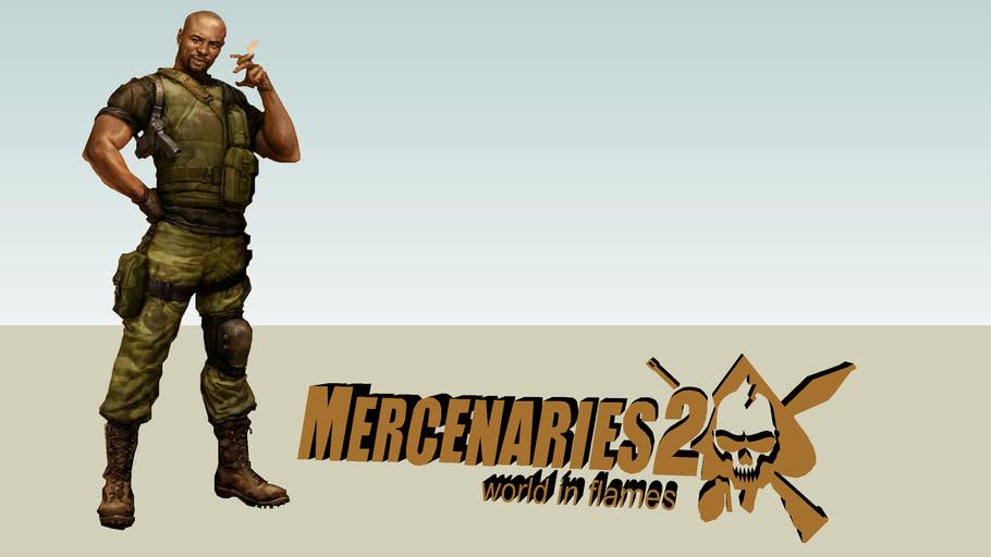 mercenaries 2 logo