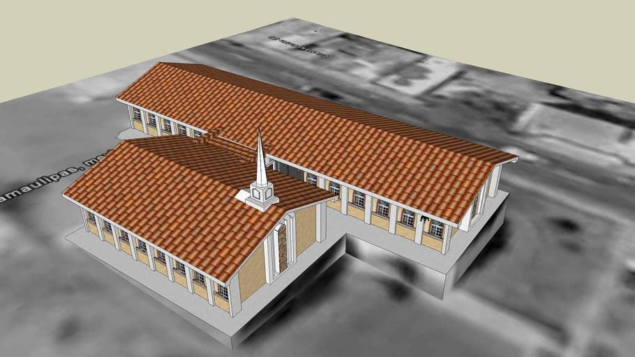 LDS. Centro de Reunion Mormon, Capilla de Ciudad Victoria, Tamaulipas, Mexico.