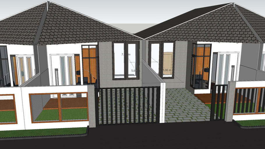 1-Story Simple House 1