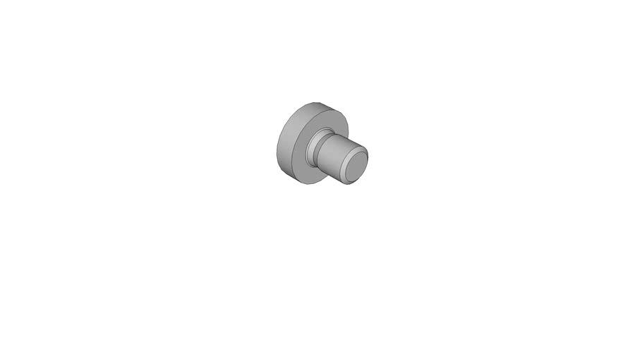 0714911301 Cross recessed raised cheese head screws DIN 7985 AM2.5x3 -H