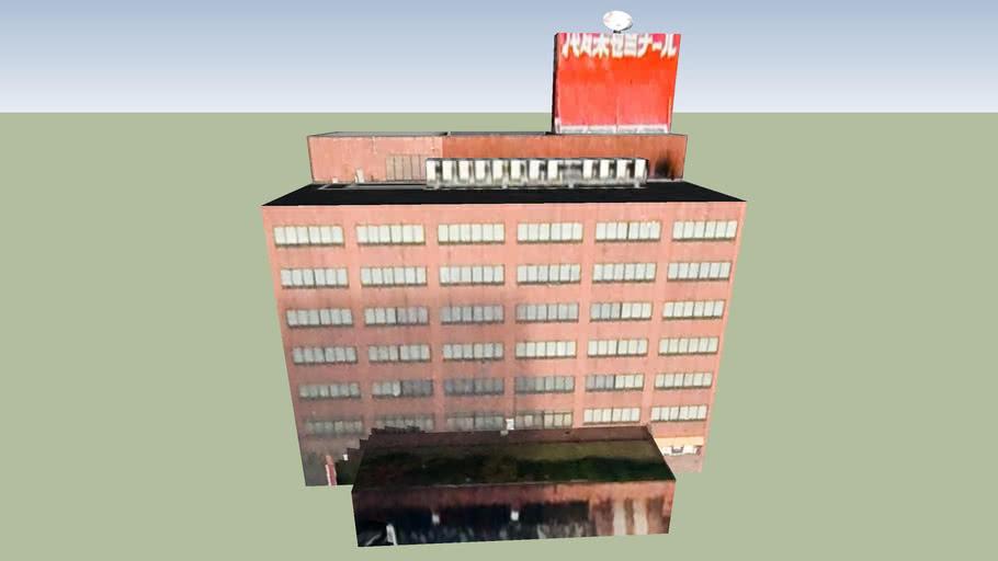 Building, Kita Ward, Sapporo City, Hokkaidō Prefecture, Japan