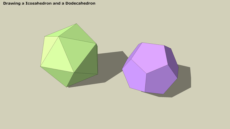 Tutorial for Icosahedron / Dodecahedron