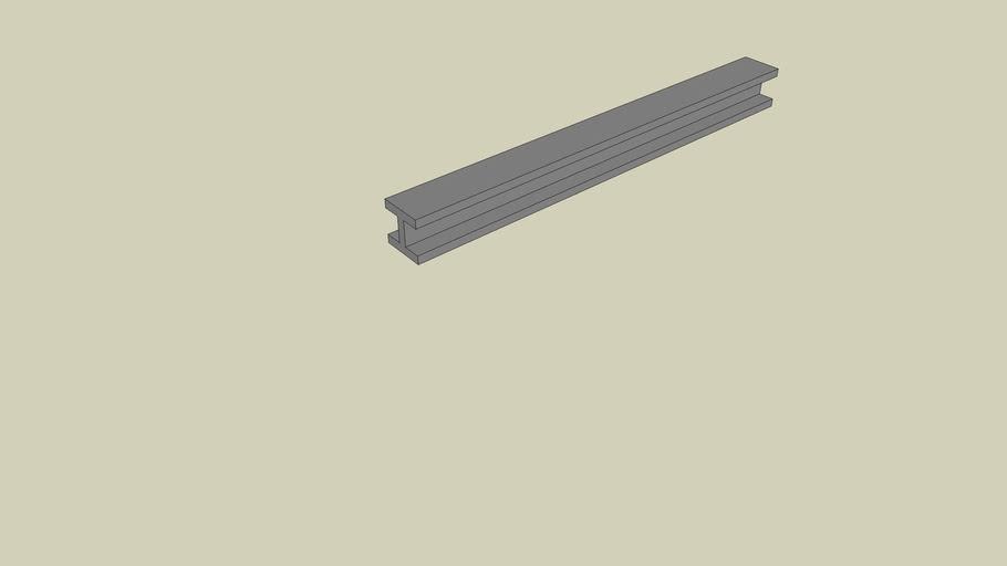 Poutre Metallique 220 Cms de Long