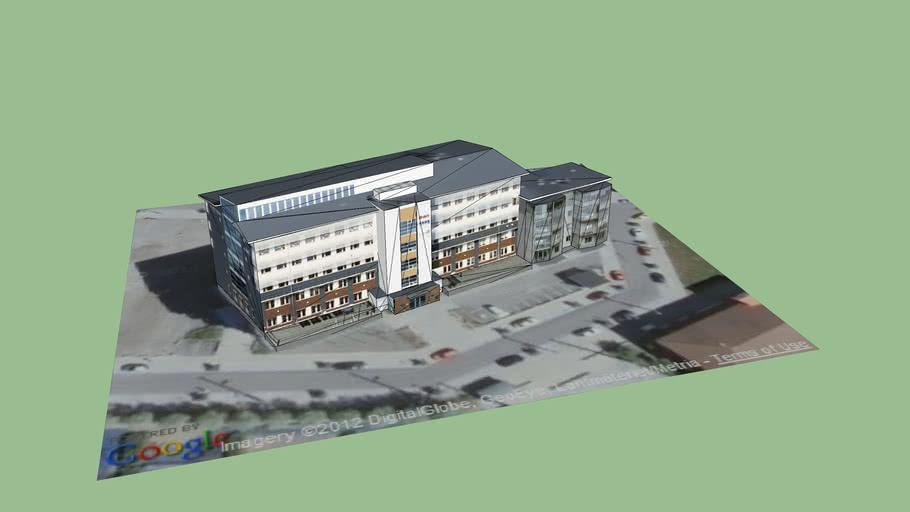 Office building Inner Harbour, Sundsvall