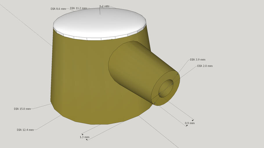 Wooden enclosure for Cooler Master HC-300 headset/earphones with bone cap