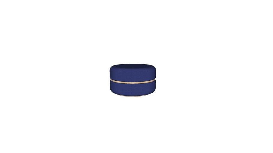 [Macaron] Ottoman(M)-Ash (Deep Blue)