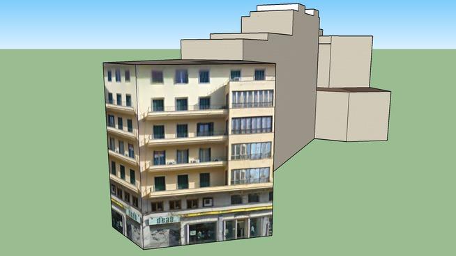 Edificios  Avenida Rossello  Nº 22-24-26-28-30-32