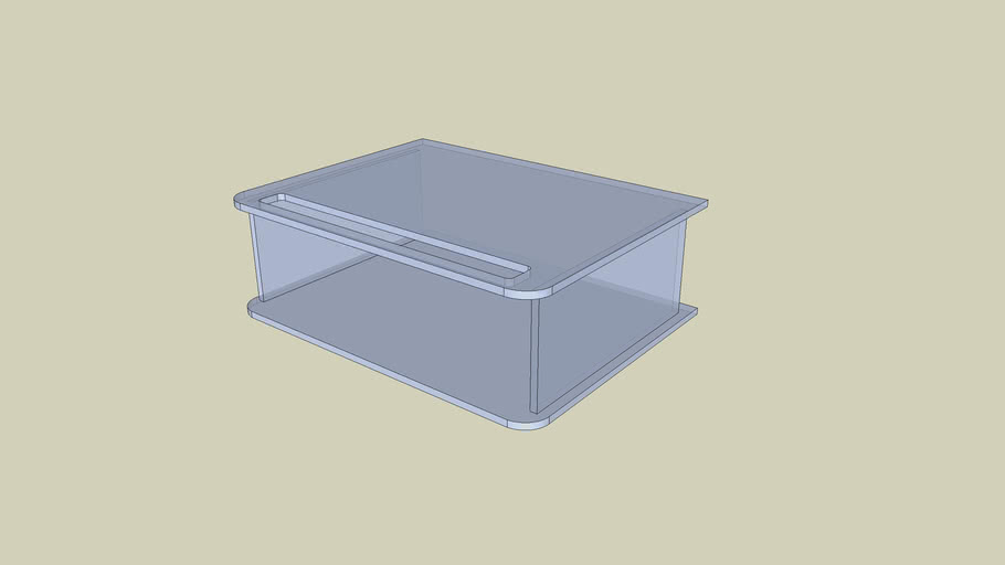 Table de Bench - plexiglass
