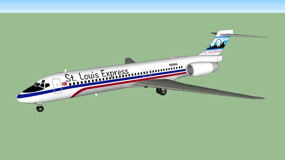 St. Louis Express Boeing 717-231 (2017[F])
