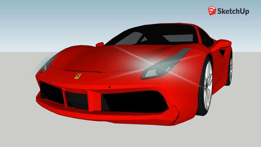 Ferrari 2020 3d Warehouse