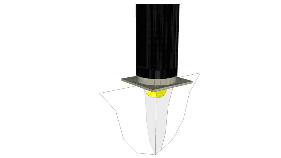 Juno Lighting 2in Square LED Recessed Light